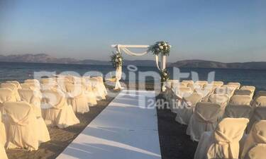 Ο γάμος στην Ερμιόνη, η Κουρτίδου και ο Άγγελος Μπράτης (exclusive)