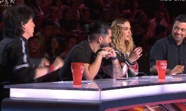 X Factor: Ο Τσαουσόπουλος την «είπε» στην Ασλανίδου για τις ξινίλες της κι εκείνη… «πέρα βρέχει»!