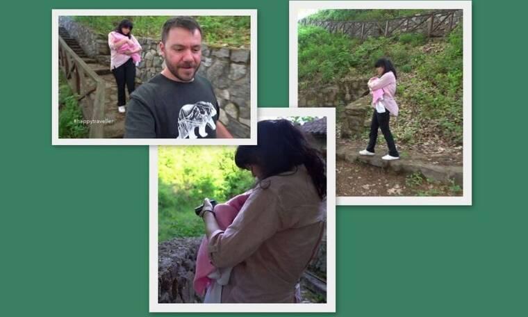 Happy Traveller: Συγκινητικό! Η πρεμιέρα του Ευτύχη Μπλέτσα και τα πλάνα με το μωρό (pics&vid)