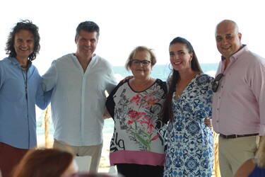 Φωτεινή Δάρρα: Σπάνια εμφάνιση με τον σύζυγό της