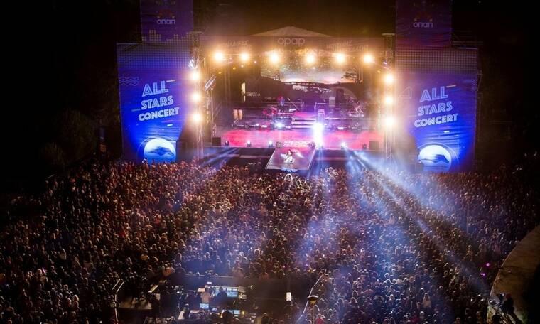 ΟPAP Music: Εντυπωσιακή μουσική πρεμιέρα στο Markopoulo Park με περισσότερους από 12.000 θεατές