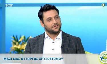 Γιώργος Χρυσοστόμου: Η αποκάλυψη του ηθοποιού που συγκίνησε τον Κρατερό Κατσούλη (video)