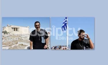 Φτερωτός Θεός: Η βόλτα του Τζαν Γιαμάν στην Αθήνα και οι πόζες στην Ακρόπολη (photos)