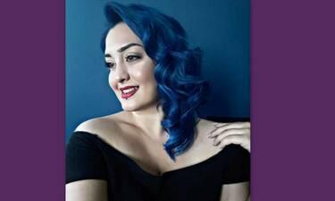 GNTM: Οι φώτο της παίκτριας με τα μπλε μαλλιά που μας τρέλαναν- Τα χίλια πρόσωπα του plus size model