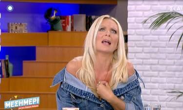 Χαμός στην εκπομπή του Λιάγκα! «Τα πήρε στο κρανίο» η Κατερίνα Γκαγκάκη! (Video)
