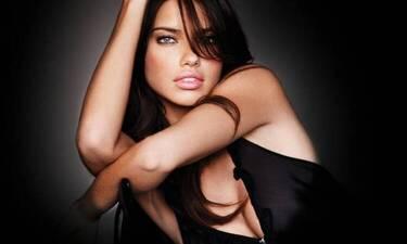 Με φόρεμα Έλληνα σχεδιαστή η Adriana Lima (photos)