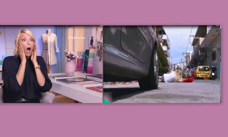 Shopping Star: Το σοκ της Καγιά με την επική τούμπα διαγωνιζόμενης στη μέση του δρόμου (Video)