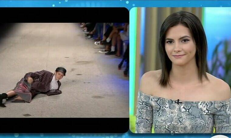 GNTM: Τι λέει η Σάρα για το ατύχημα στην πασαρέλα και ποιο είναι το επόμενο βήμα της; (pics&vid)