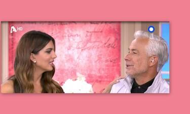 Άφωνη η Τσιμτσιλή! Δείτε τι αποκάλυψε on air ο Χριστόπουλος για την Καγιά: «Σοβαρά μιλάς;» (Video)