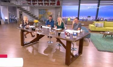 Το πρωινό: Δεν υπάρχει η ατάκα της Σκορδά για τα νούμερα τηλεθέασης! (Video)