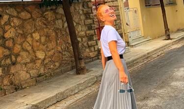 Μαρία Ηλιάκη: Στη Ζυρίχη με look που θα σε αφήσει άφωνη! Φόρεσε το πιο trendy top! Θα σε ξετρελάνει