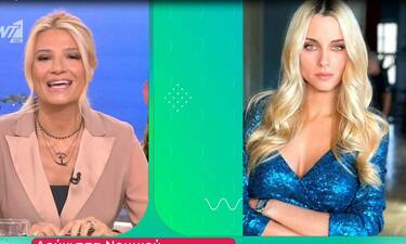 Φαίη Σκορδά: Οι ευχές on air στην Δούκισσα Νομικού για τη γέννηση της κόρης της