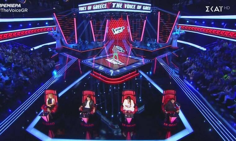 The Voice: Μέλος των ONE στη σκηνή - Γύρισαν ή όχι οι κριτές; (photos&video)