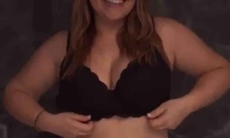 Πασίγνωστη Ελληνίδα ηθοποιός δέχτηκε το challenge να βγάλει το σουτιέν της μπροστά στην κάμερα!