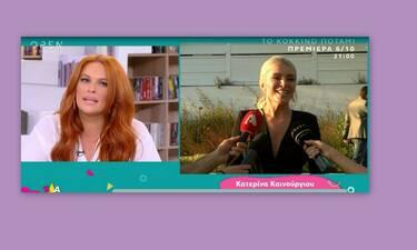 Σίσσυ Χρηστίδου: Η απίστευτη δήλωση on air για την Καινούργιου και τον... γάμο της (Video)