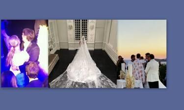 Ο ρομαντικός γάμος τους στη Μύκονο- Το μυστήριο και η λαμπερή δεξίωση! (Video & Photos)