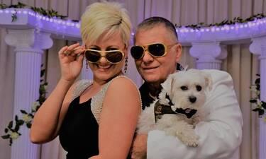 Τι αποκαλύπτει ο Τράγκας για τον «γάμο» του στο Λας Βέγκας με τη σύζυγό του Μαρία (video)