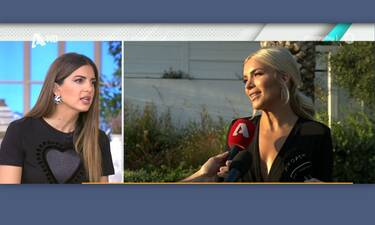 Η Τσιμτσιλή αποκάλυψε on air: «Η Κατερίνα Καινούργιου μου σύστησε τον σύντροφό της» (Video)
