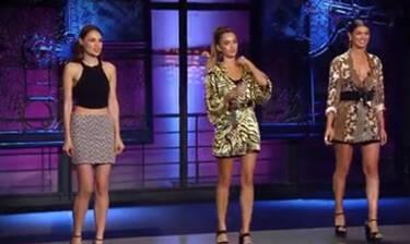 GNTM: Χαμός ανάμεσα στα κορίτσια! Η πρώτη αποχώρηση! (video+photos)