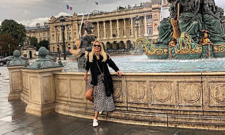 Η queen Dina βρίσκεται στο Παρίσι, περνάει καλά και μας το δείχνει! (photos)