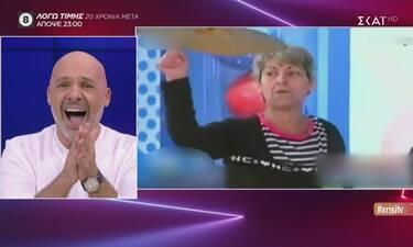 Καλό μεσημεράκι: Η αντίδραση του Μουτσινά με την πλήρη μετάλλαξη της γυναίκας-αντιπροσώπου! (video)