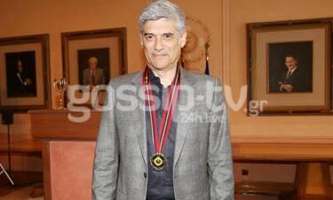 Γιώργος Χωραφάς: Είδαμε τη γυναίκα του και δεν το πιστεύαμε! Άστραψαν πάνω της όλα τα φλας (Photos)