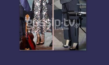«Αντίπαλες» σε μουσικά ριάλιτι… αλλά με το ίδιο παπούτσι στην ίδια συναυλία (Photos)