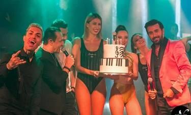 Θάνος Πετρέλης: Είχε τα γενέθλιά του και του έκαναν έκπληξη! Η τούρτα-υπερπαραγωγή! (photos+video)