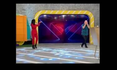 Καλό μεσημεράκι: Το σοκ του Νίκου Μουτσινά όταν είδε ποια τραγουδίστρια εισέβαλε στο πλατό(pics&vid)