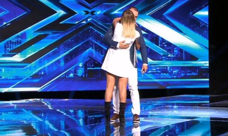 X Factor: Η Ασλανίδου τον «έκοψε» αλλά τον αγκάλιασε και του έκανε πρόταση συνεργασίας (pics&vid)
