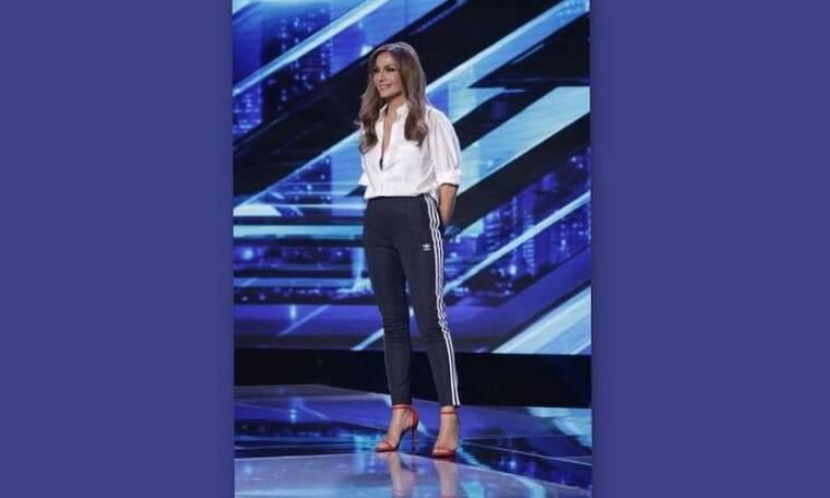X Factor: Η Βανδή συνεχίζει να παραδίδει μαθήματα στιλ! Όλες οι λεπτομέρειες του look της (photos)