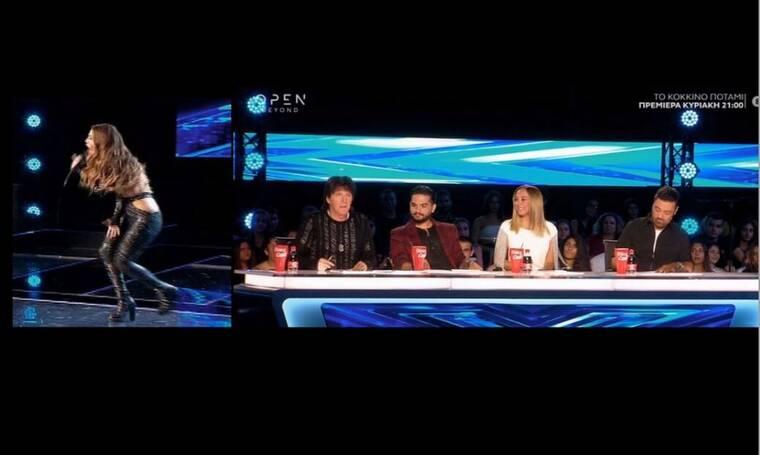 X Factor: Η σέξι εμφάνιση της πρώην συνεργάτιδας του Μάστορα που δίχασε και τα καυστικά σχόλια