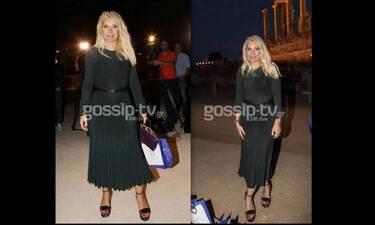 Ελένη Μενεγάκη: To μεγάλο ατόπημα που έκανε στο fashion show της Κατράντζου στο Σούνιο (pics&vid)