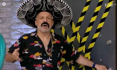 Καλό μεσημεράκι: Θα κλαίτε από τα γέλια όταν δείτε πώς εμφανίστηκε ο Σπαλιάρας στον Μουτσινά (video)