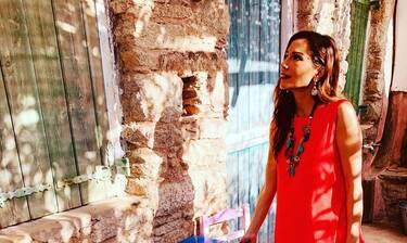 Ατύχημα για την Δέσποινα Βανδή κατά τη διάρκεια των γυρισμάτων της – Τι συνέβη; (Photos)