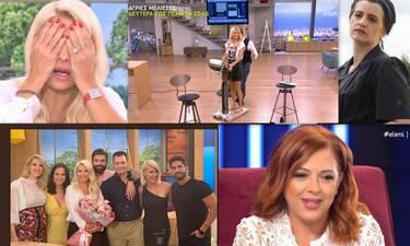 Η απίστευτη γκάφα της Ελένης on air, ο άγριος τσακωμός στην πρεμιέρα και τα κιλά της Σκορδά (photos)