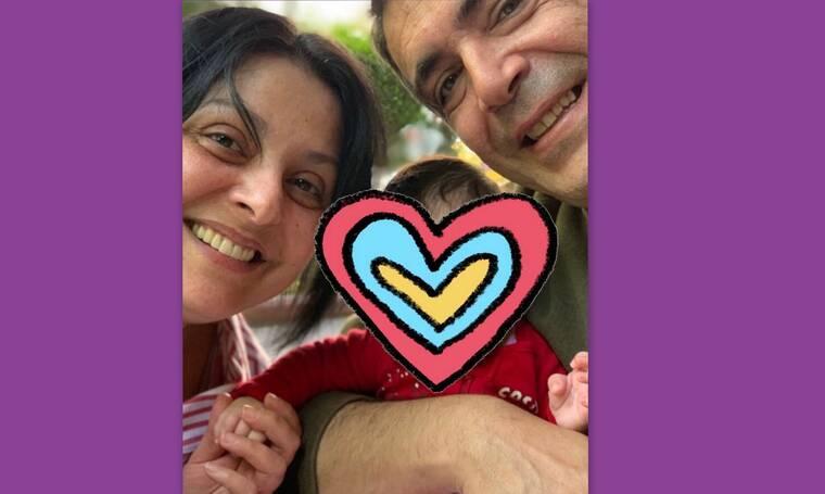 H Βασιλική Ανδρίτσου βάφτισε την κόρη της κι έχουμε τις πρώτες εικόνες (photos)
