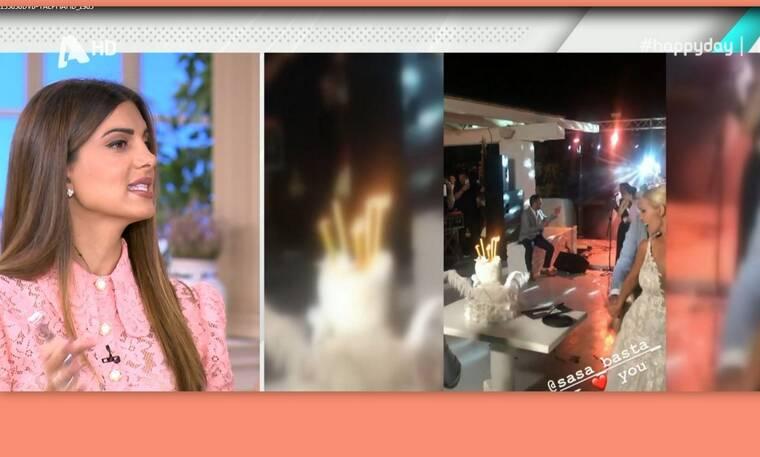 Γάμος Μπάστα: Η απίστευτη ατάκα για το στέμμα της Σάσας και την τούρτα με τα κεριά από την εκκλησία