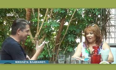 Η εξομολόγηση της Νικολέτας Βλαβιανού: «Χώρισα γιατί ο άντρας μου βγήκε σατράπης» (Video)