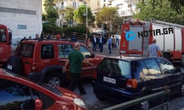 Φρικτό δυστύχημα στην Ηλιούπολη: Οδηγός καταπλακώθηκε από το φορτηγό του έξω από σούπερ μάρκετ