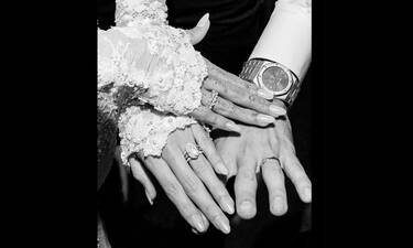 Παντρευτήκαν κρυφά και ναι, αυτή είναι η πρώτη επίσημη φωτογραφία του γάμου τους (Photos)