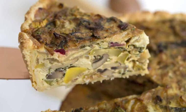 Αυτή είναι σίγουρα η πιο νόστιμη πίτα με λαχανικά που δοκίμασες ποτέ
