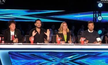 X Factor: Η ατάκα του Χρήστου Μάστορα σε διαγωνιζόμενη που την συγκίνησε (pics&vid)