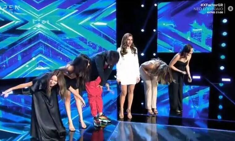 X Factor: Ολοκληρώθηκε και το 3ο Chair Challenge! Ποιες κοπέλες τα κατάφεραν; (pics&vid)