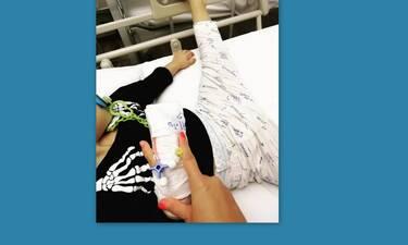 Ο γιος γνωστού ζευγαριού της ελληνικής showbiz στο νοσοκομείο (Photos)