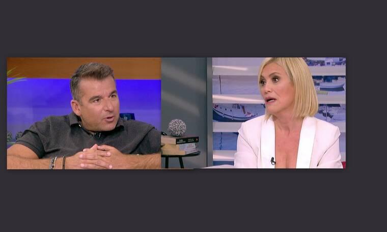 Κωνσταντίνα Μιχαήλ: Απίστευτο σκηνικό. Tα «έχωσε» on air στον Λιάγκα- Τα «χάσε» ο παρουσιαστής (Vid)
