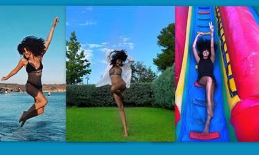 Μαρία Σολωμού: Τι 20... τι 30... τι 40! Αξίζει να τη δεις χωρίς φίλτρα και ρετούς!  (Photos)