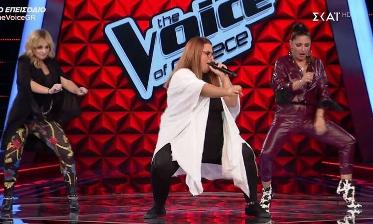 The Voice: Η γυμναστική στη σκηνή και η διαγωνιζόμενη που πέρασε από... audition τους κριτές