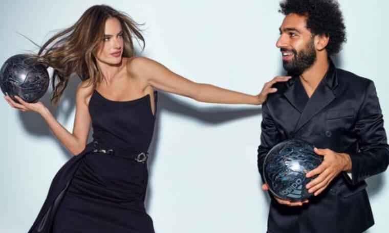 Τυχερέ Σαλάχ - Φωτογραφήθηκε στην αγκαλιά της Αμπρόσιο! (vid&pics)
