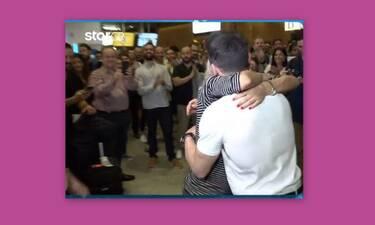 Βασιλική Μιλλούση: Η αγκαλιά στον Πετρούνια και τα τρυφερά λόγια 15 μέρες πριν γεννηθεί η κόρη τους